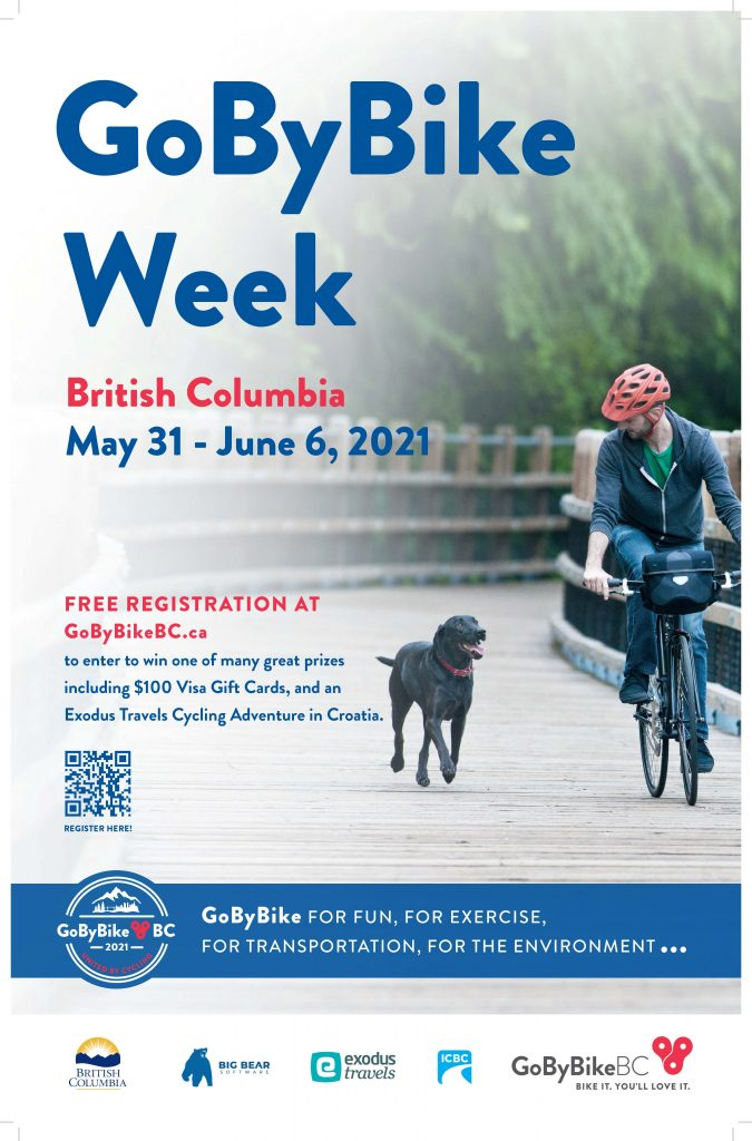 Spring GoByBike 2021 Resources Community Poster